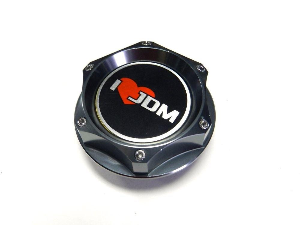 I LOVE JDM CNC BILLET ENGINE OIL FILLER CAP FOR NISSAN 300ZX 350Z 370Z FAIRLADY