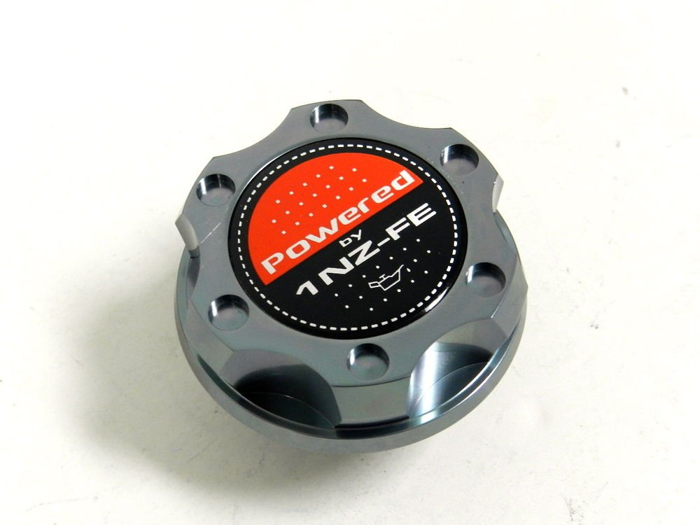 GUNMETAL BILLET CNC RACING ENGINE OIL FILLER CAP TOYOTA YARIS XA XB 1NZFE