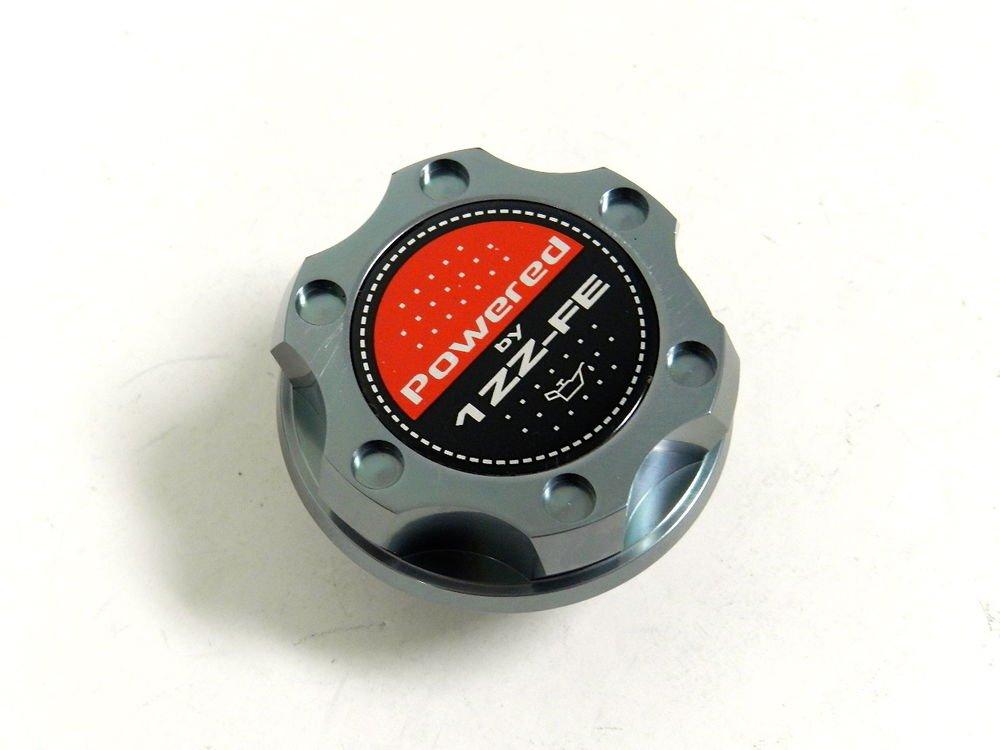 GUNMETAL BILLET CNC RACING ENGINE OIL FILLER CAP TOYOTA CELICA MATRIX 1ZZ-FE