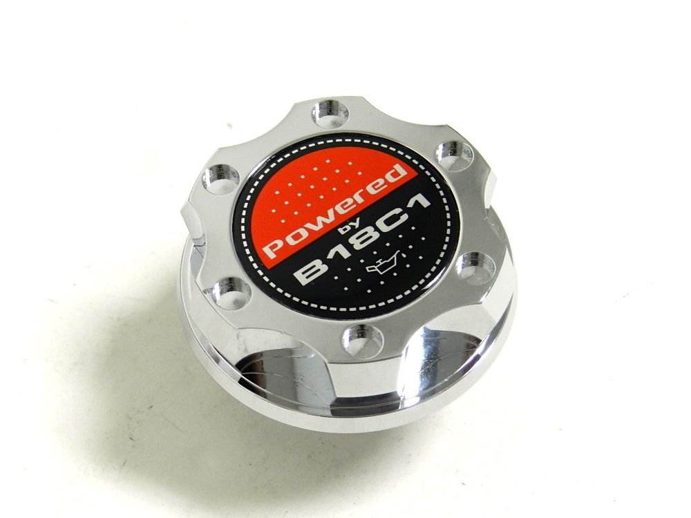CHROME BILLET CNC RACING ENGINE OIL FILLER CAP ACURA INTEGRA B18C1