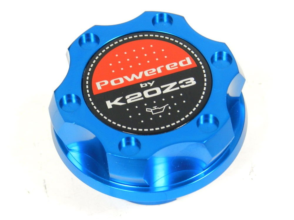BLUE BILLET CNC RACING ENGINE OIL FILLER CAP HONDA CIVIC RSX K20Z3
