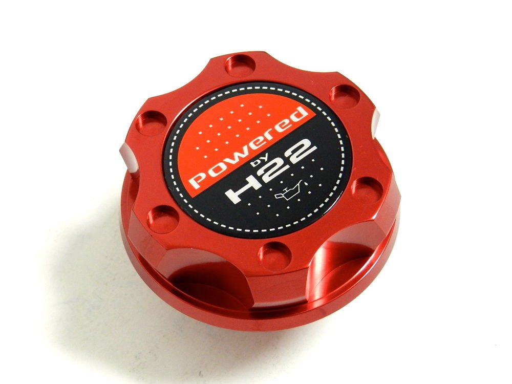 RED BILLET CNC RACING ENGINE OIL FILLER CAP HONDA PRELUDE H22