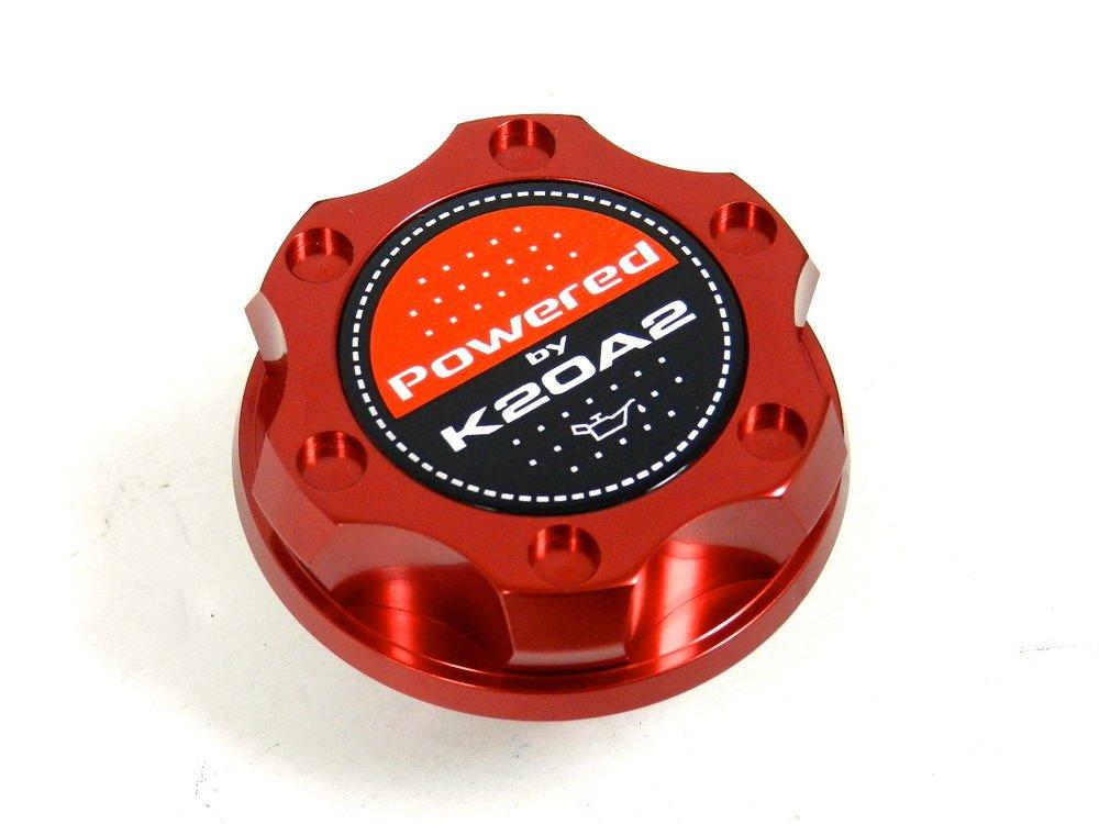 RED BILLET CNC RACING ENGINE OIL FILLER CAP HONDA CIVIC RSX K20A2