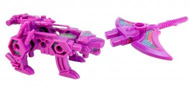 Peg-Paw Plundor & Dread Pickaxe Raybot (Piratical Purple)