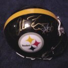 Alan Faneca autographed Steelers mini helmet