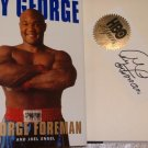 Autographed By George George Foreman Book