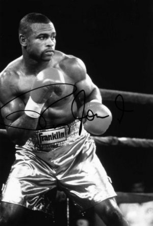 "Roy Jones Jr. Autographed 8""x10"""