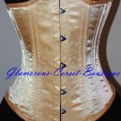 Waist Training Corset Double Steel Boned Underbust 26 Steel Bones Heavy XS-3XL