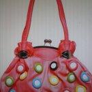donut shoulder handbag