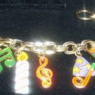 Charm Bracelet Happy Birthday
