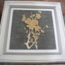 3D wooden wall picture for decoration (39*39cm) - flower C