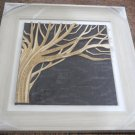 3D wooden wall picture for decoration (39*39cm) - tree right