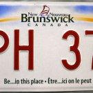 2012 New Brunswick License Plate Canada (CPH 376)
