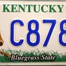 2007 Kentucky Wildlife Horse License Plate (C8783)