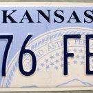 2013 Kansas License Plate (976 FBW)