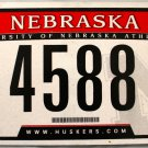 2011 Nebraska: University of Nebraska Athletics License Plate (4588)