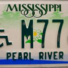 "2006 Mississippi Disabled ""Wheelchair"" License Plate (DB M7763)"