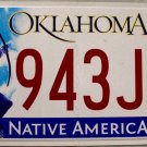 2015 Oklahoma License Plate (943JGS)