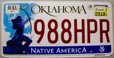 1958 License Plate Restoration and Collection Oklahoma 46 of 50