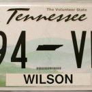 2013 Tennessee License Plate (394 VMW)