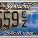 2009 Kentucky Nature's Finest License Plate (6559 CZ)