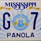2015 Mississippi License Plate (PAG 711)