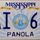 2015 Mississippi License Plate (PAI 649)