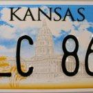 2011 Kansas License Plate (SLC 860)