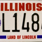 Illinois U.S.Armed Forces Retired License Plate (L14848)