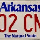 1999 Arkansas License Plate (302 CNG)