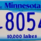 2009 Minnesota Disabled Wheelchair License Plate (8054 HK)