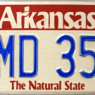 1998 Arkansas License Plate (SMD 354)