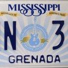 2015 Mississippi License Plate (GNN 390)