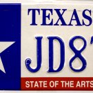 Texas State of The Arts License Plate (JD8TF)