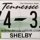 2014 Tennessee License Plate (L74 31V)
