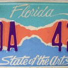 2006 Florida State of the Arts License Plate (FDA 425)
