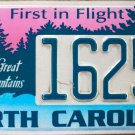 North Carolina Friends of Great Smoky Mountains License Plate (1625SM)