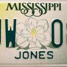 2003 Mississippi License Plate (LJW 088)