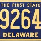 2012 Delaware License Plate (292647)