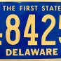 1996 Delaware License Plate (48425)