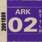 Arkansas: ST Trailer Plate Year Sticker (2002)