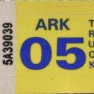 Arkansas: Truck Plate Year Sticker (2005)