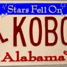 "2004 Alabama Disabled ""Wheelchair"" License Plate (K0B04)"