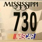 2005 Mississippi NASCAR License Plate (730)