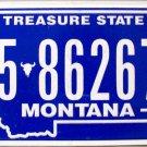2010 Montana License Plate (5-86267A)