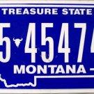 2014 Montana License Plate (5-45474A)