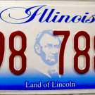 2016 Illinois License Plate (K98 7883)
