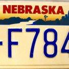 1994 Nebraska License Plate (2-F7842)