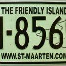2003-2004 St. Maarten License Plate (M-8569)