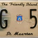 2010 St. Maarten Government License Plate (G 53)